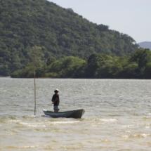 Filming at Lagoa da Conceição