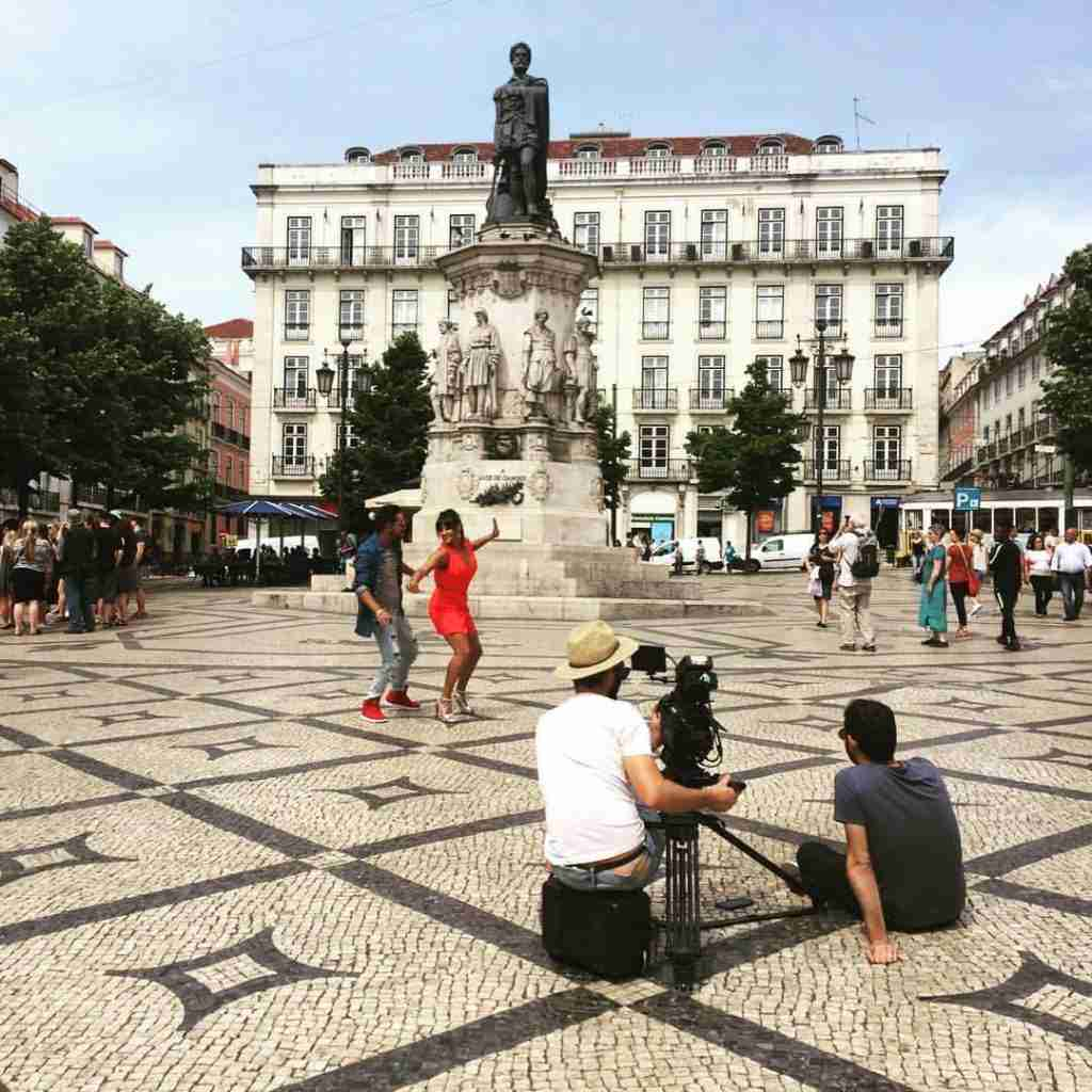 Film in Lisbon, Portugal