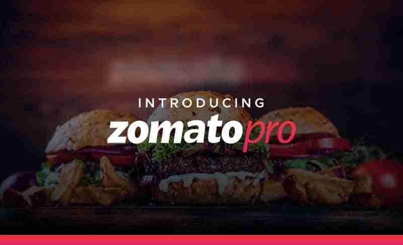 Zomato Pro Código Promocional